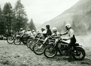 Bultaco Motocross Starting Gate