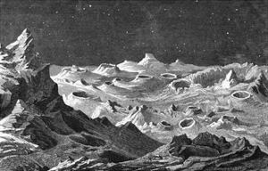 Bumpy Lunar Landscape
