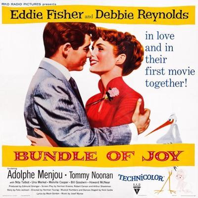 Bundle of Joy, Eddie Fisher, Debbie Reynolds, 1956