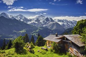 The Swiss Alps by Burben