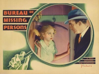 Bureau of Missing Persons, 1933