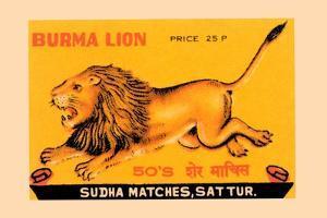 Burma Lion