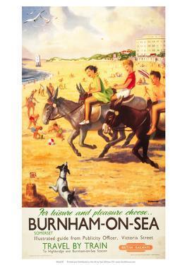 Burnham-on-Sea, BR (WR), c.1950s