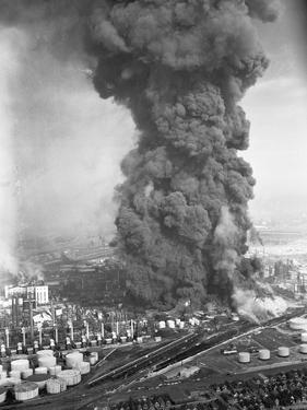 Burning Oil Refinery