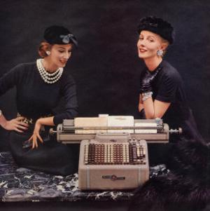 Burroughs Sensimatic Adding Machines Equipment, USA, 1950
