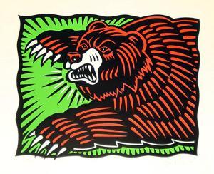The Bear by Burton Morris