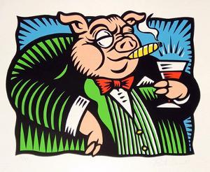 The Pig by Burton Morris