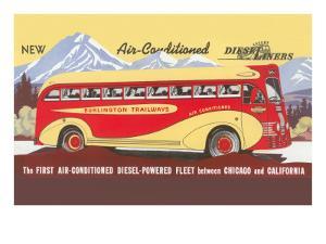 Bus Line, Chicago to California
