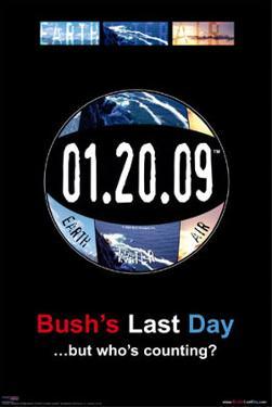 Bush's Last Day