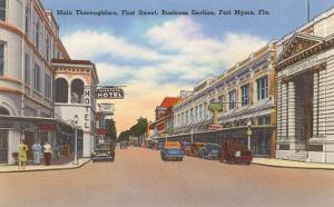 Business District, Ft. Myers, Florida