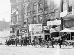 Businesses on Fillmore Street