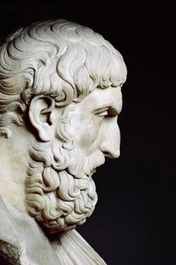 Bust Sculpture of Epicurus
