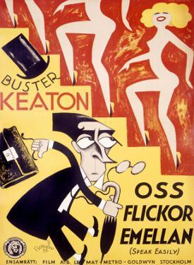 Buster Keaton, Speak Easily