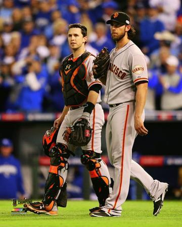 Buster Posey & Madison Bumgarner Game 7 of the 2014 World Series