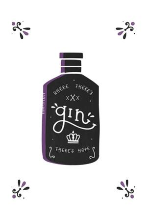 Where There's Gin There's Hope by Busy Being