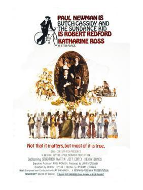 Butch Cassidy and the Sundance Kid, Katharine Ross, Paul Newman, Robert Redford, 1969