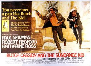 Butch Cassidy and the Sundance Kid - Lobby Card Reproduction