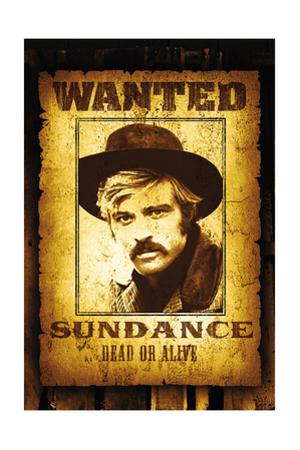 Butch CAssidy and the Sundance Kid, Robert Redford on Poster Art, 1969