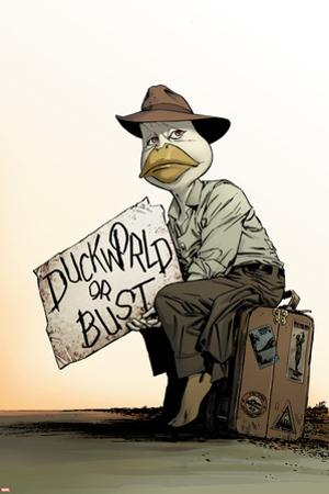 Howard the Duck No. 8 Cover Art