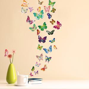 Butterflies with Swarovski Crystals