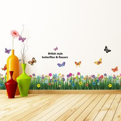 Butterfly Grass Skirting with Swarovski Crystals