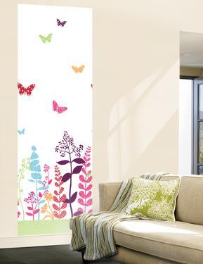 Butterfly Panel Huge Mural Art Print Poster