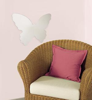 Butterfly Peel & Stick Mirror (Large)