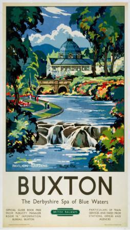 Buxton, BR (LMR), c.1950