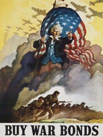 Buy War Bonds Poster