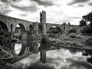 Old Bridge with Reflection by by gargomo