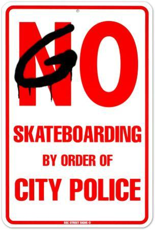 By Order Of City Police