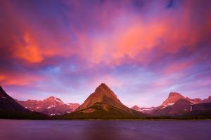 Sunrise at Glacier by by Sathish Jothikumar