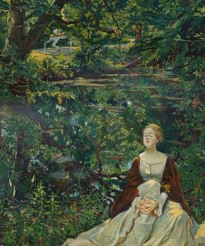 'From a painting by Byam Shaw', c1899 by Byam Shaw