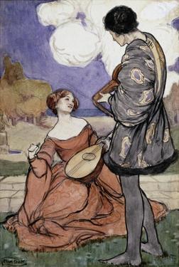 Rustic Music by Byam Shaw