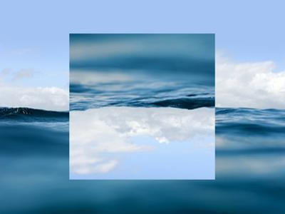 Sky and Water - Geometric Reflections Effect by byrdyak