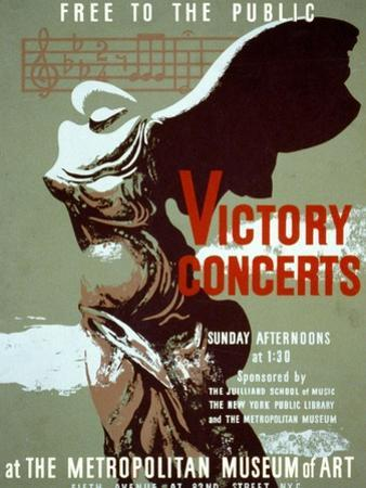 Victory Concerts at the Metropolitan Museum of Art