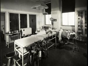 A Hospital Operating or Delivery Room, New York, 1941 or 1942 by Byron Company