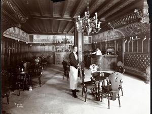 The Dutch Room at the Hotel Manhattan, 1902 by Byron Company