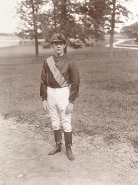 The Jockey Tod Sloan on His Return from Europe, 1898 by Byron Company