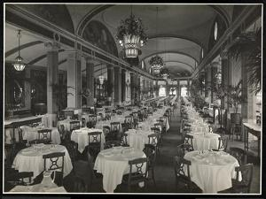 The Roof Garden Restaurant at the Hotel Pennsylvania, 1919 by Byron Company
