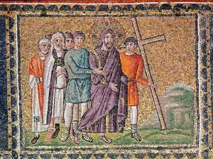 The Road to Calvary, Scenes from the Life of Christ by Byzantine School