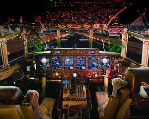 C-130 with digital glass cockpit