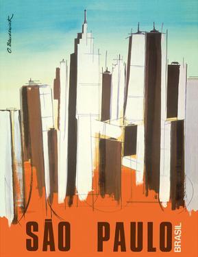 Sao Paulo - Brasil (Brazil) - Skyline by C. Brunswick