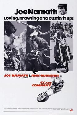 C.C. and Company, Joe Namath, Ann-Margret, Joe Namath, 1970
