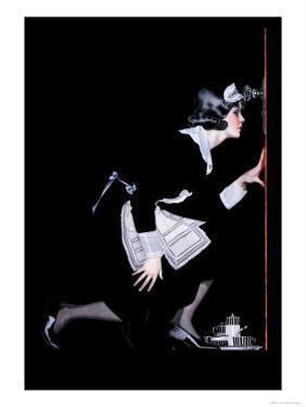 Maid to Spy by C. Coles Phillips