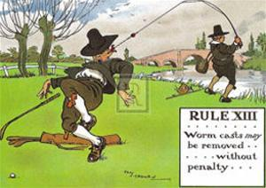 Rules of Golf, Rule XIII by C. Crombie