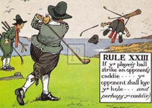 Rules of Golf, Rule XXIII by C. Crombie