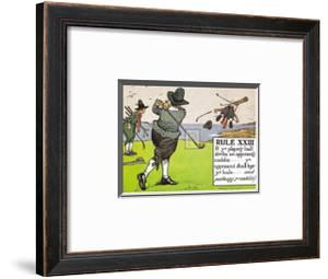 Rules of Golf, Rule XXIII by C. Crombie