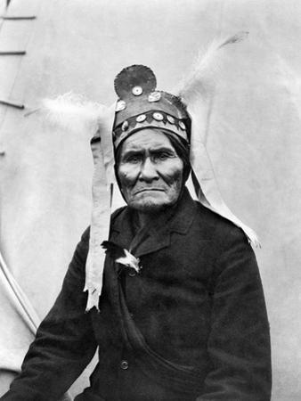 Geronimo (1829-1909) by C.d. Arnold