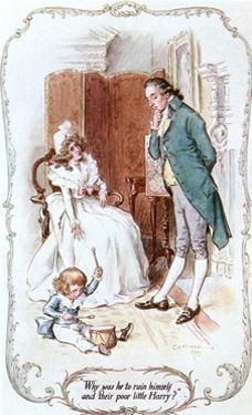 Austen, John Dashwood by C.e. Brock